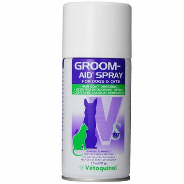 Groom Aid Spray 7.3oz