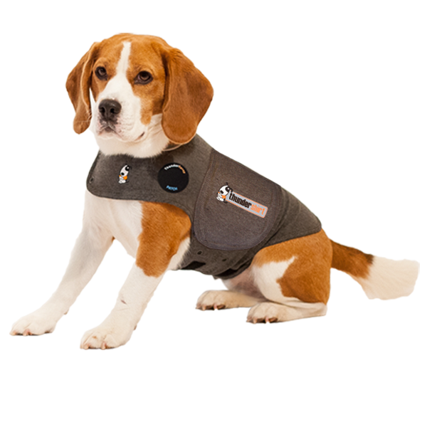 Thundershirt Dog Anxiety Treatment - Grey Extra Extra Small Under 7lbs