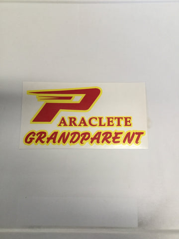 """Paraclete Grandparent"" Sticker"