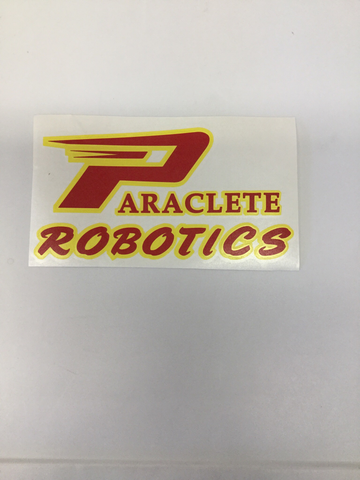 """Paraclete Robotics Sticker"