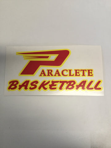 """Paraclete Basketball"" Sticker"