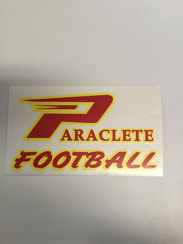 """Paraclete Football"" Sticker"
