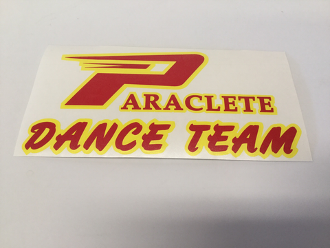 """Paraclete Dance Team"" Sticker"