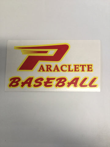 """Paraclete Baseball"" Sticker"