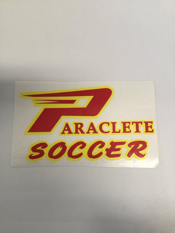 """Paraclete Soccer"" Sticker"