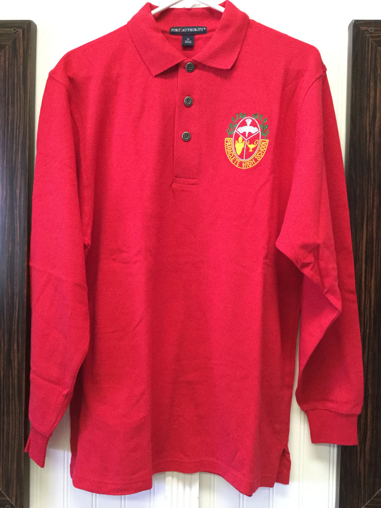 Polo Long Sleeve Red