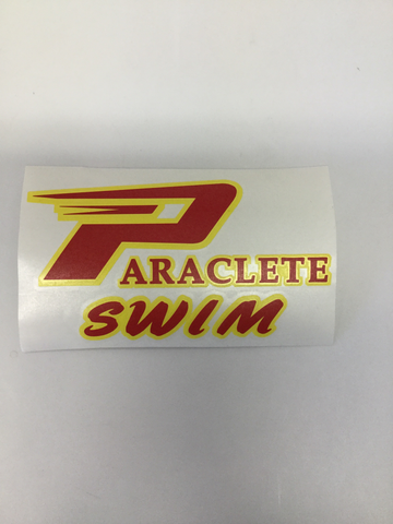 """Paraclete Swim Sticker"""