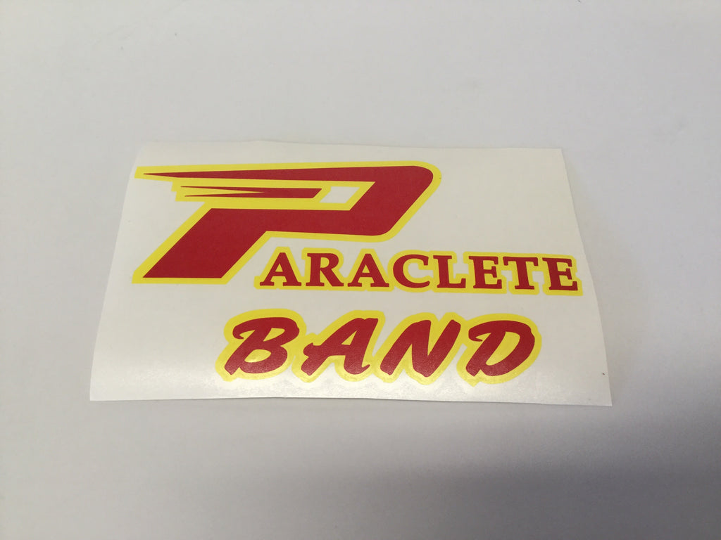 """Paraclete Band"" Sticker"
