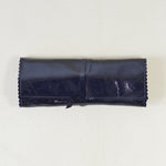 Moore Utility Leather Wrap Navy