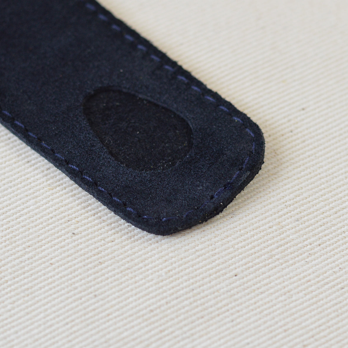 Kusama Pen Case Navy Suede