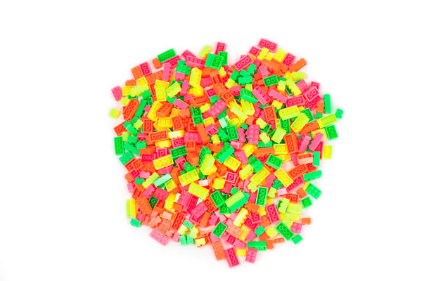 Frog Blox by the Pound - Highlighter Colors (2 lb container)