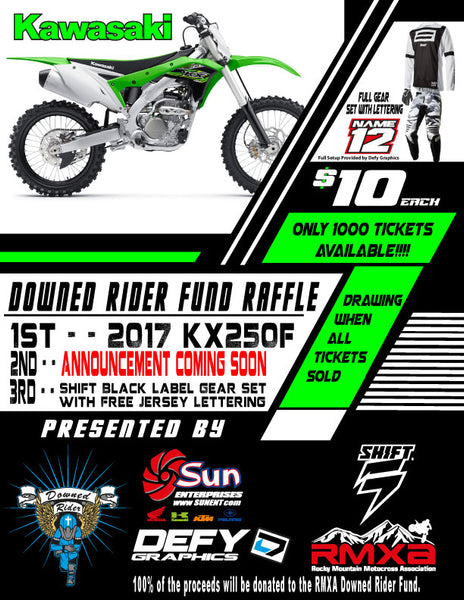 Downed Rider Raffle Tickets