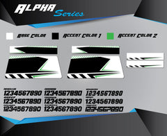 ALPHA SERIES Bike Stand Graphics