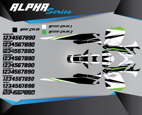 ALPHA SERIES - Sled Kits