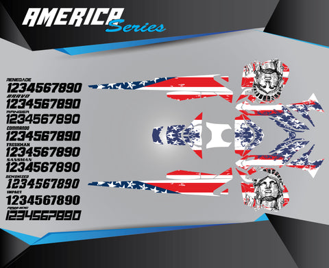 AMERICA SERIES - Sled Kits