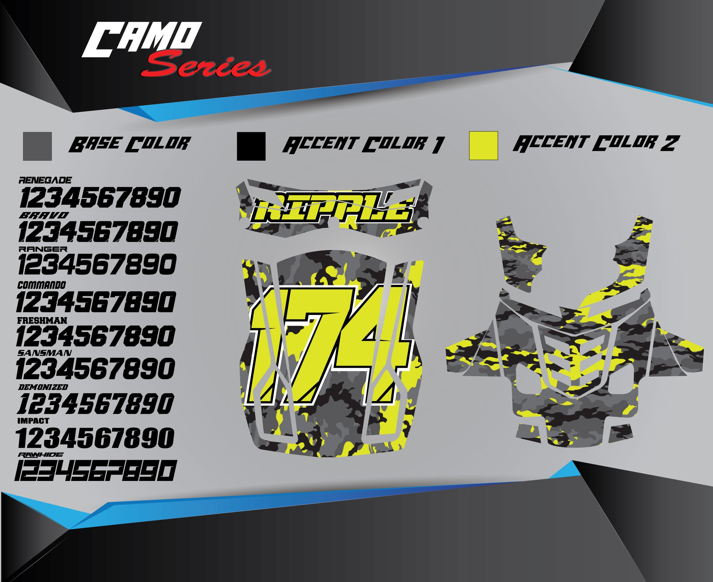 CAMO Chest Protector Graphics