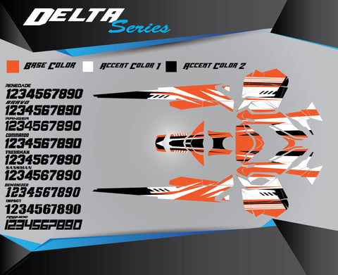 DELTA SERIES - Sled Kits