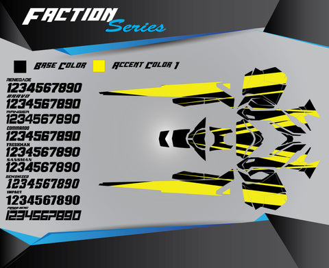 FACTION SERIES - Sled Kits