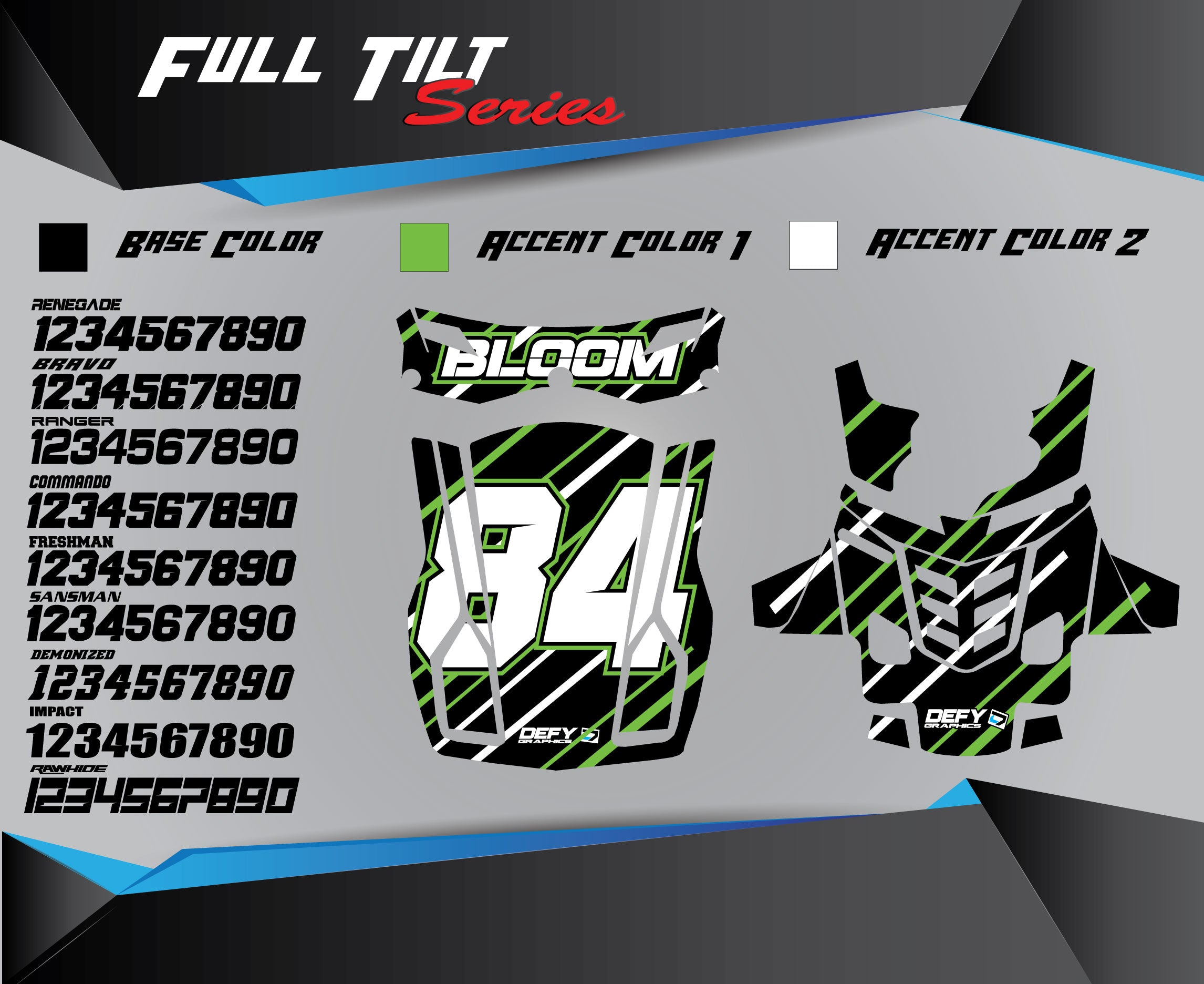 FULL TILT Chest Protector Graphics
