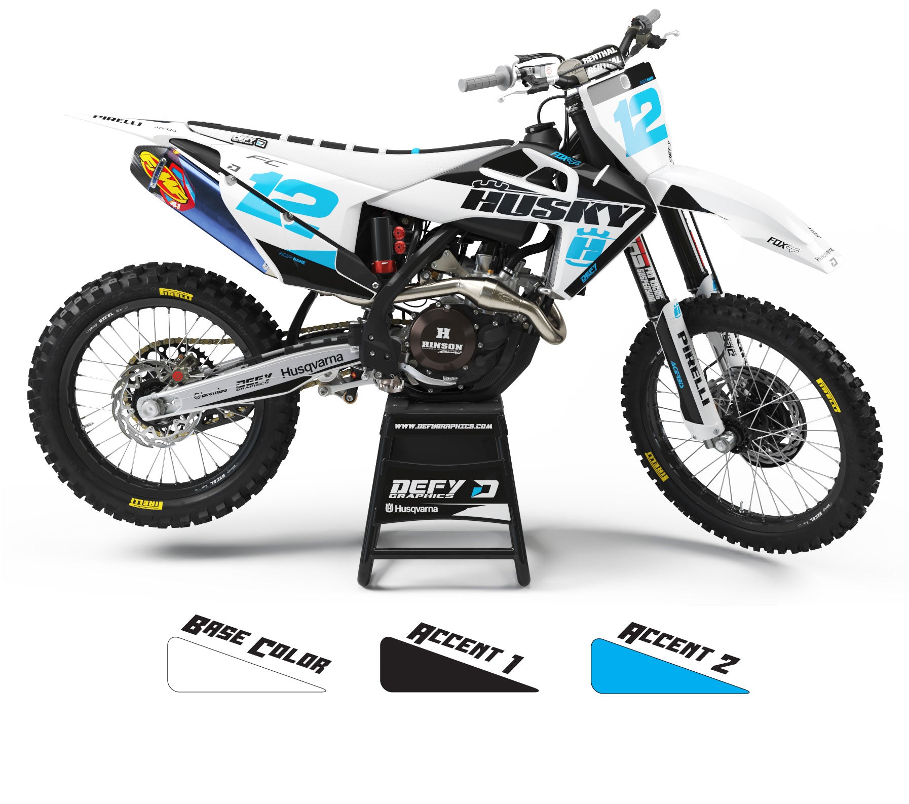 DISTRICT SERIES - Husqvarna