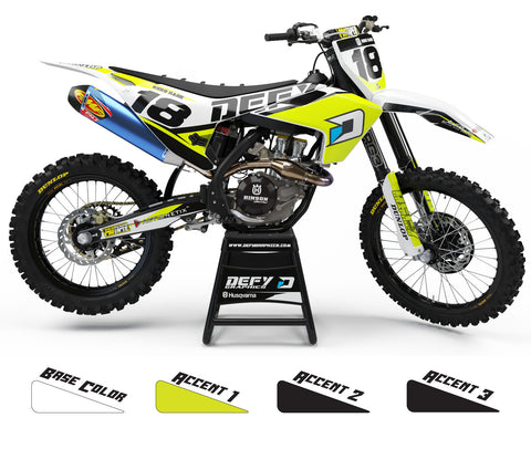 2018 TEAM SERIES -  Husqvarna