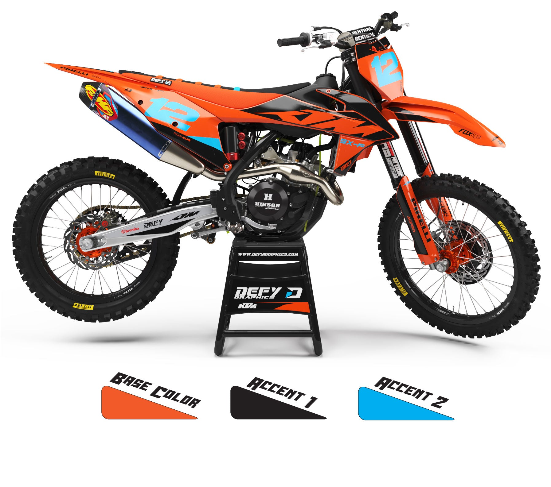 DISTRICT SERIES - KTM