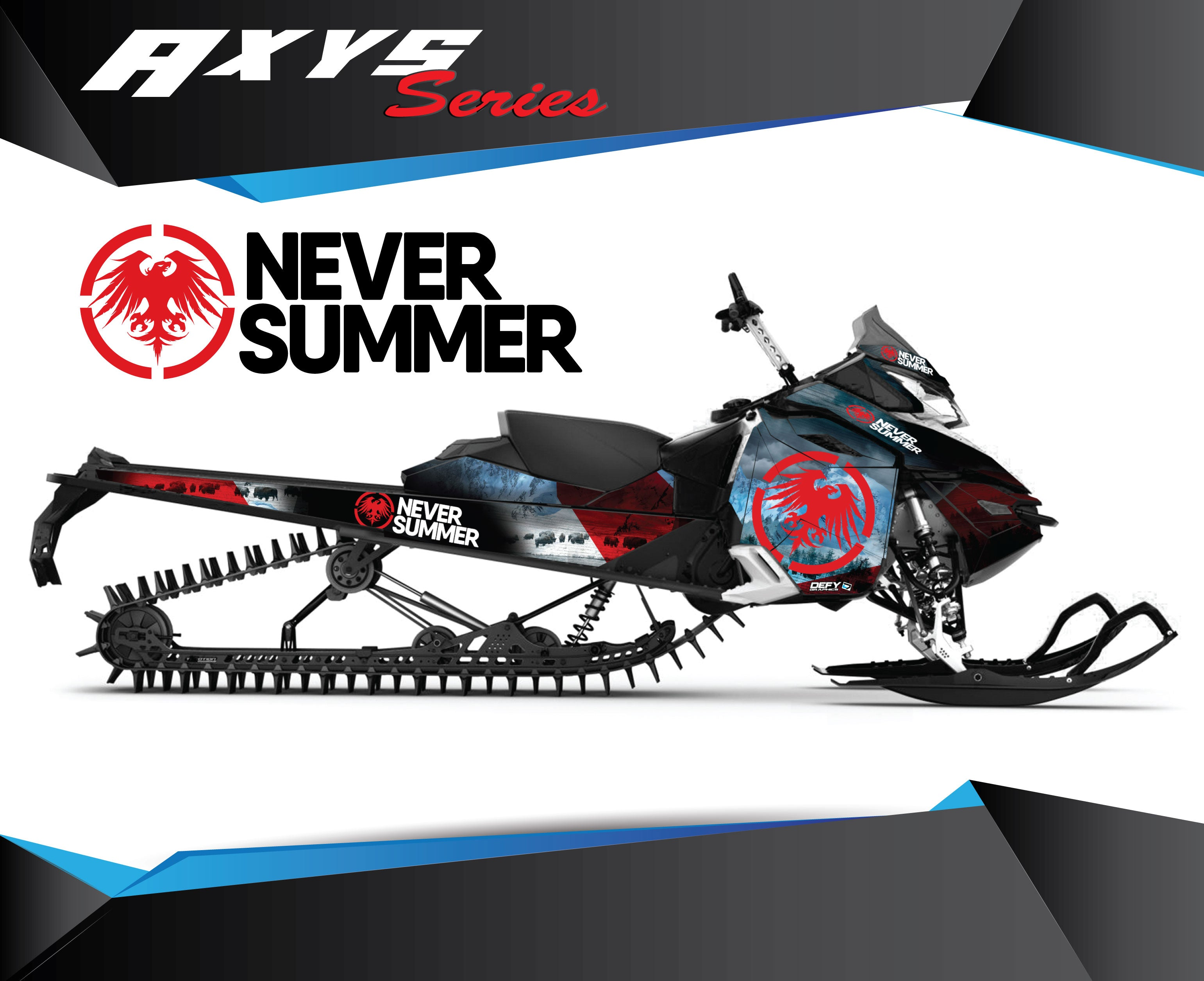 Never Summer AXYS SERIES - Sled Kits