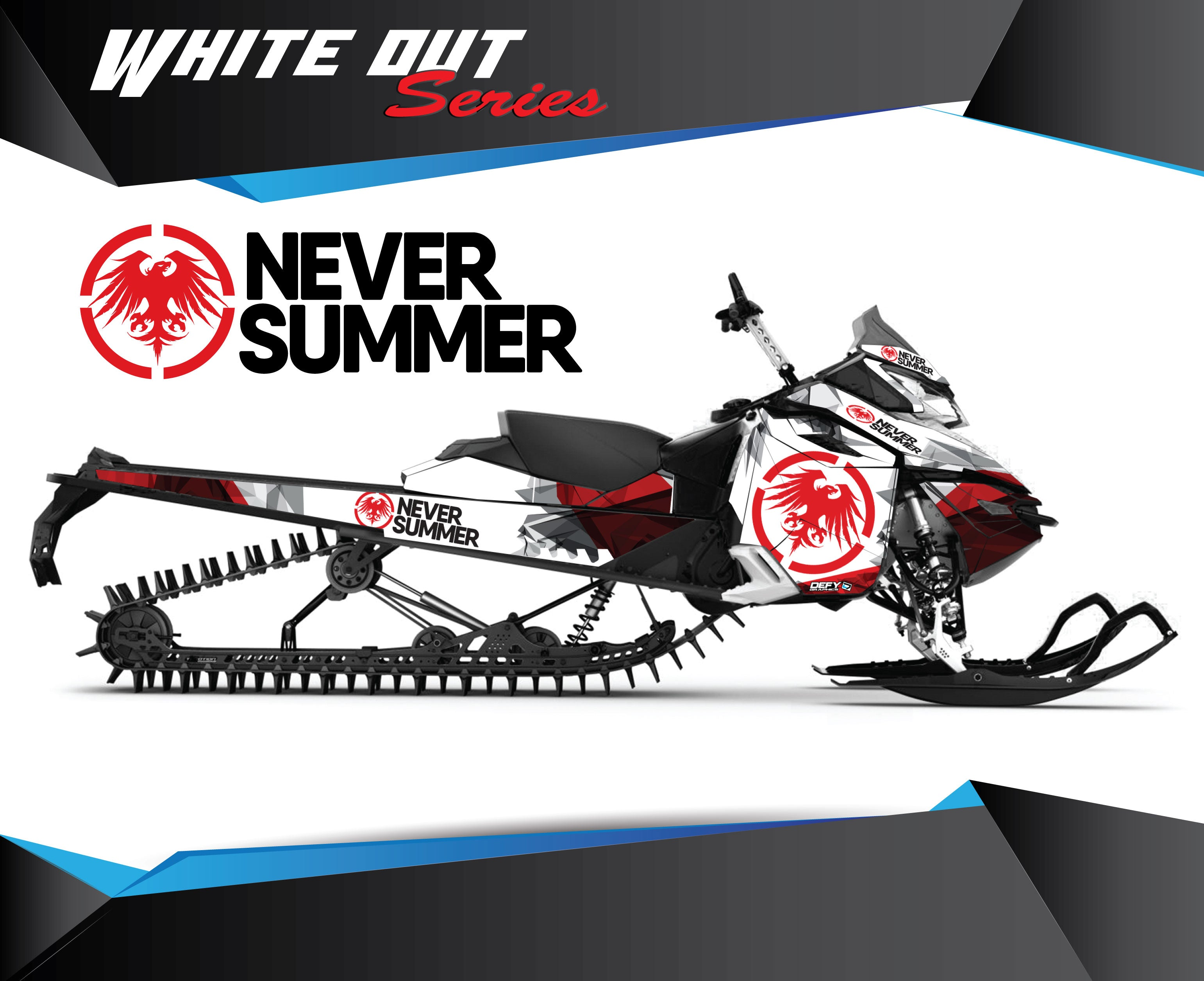 Never Summer WHITE OUT SERIES - Sled Kits
