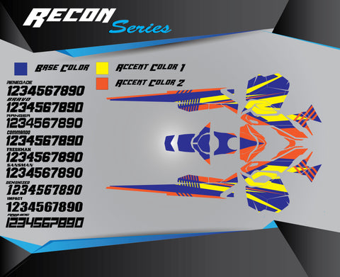 RECON SERIES - Sled Kits