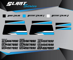 SLANT SERIES Bike Stand Graphics