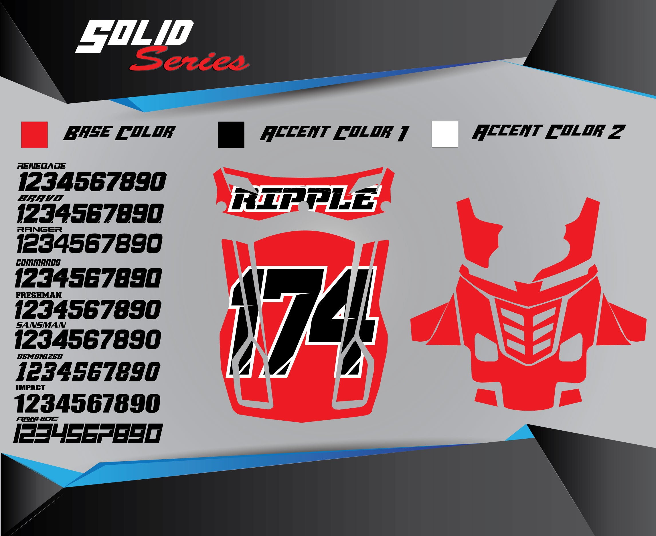 SOLID Chest Protector Graphics