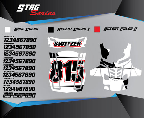STAG Chest Protector Graphics
