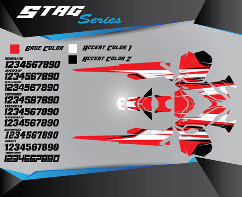 STAG SERIES - Sled Kits