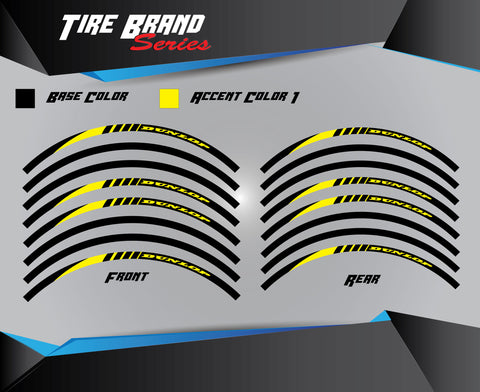 TIRE BRAND Rim Strips