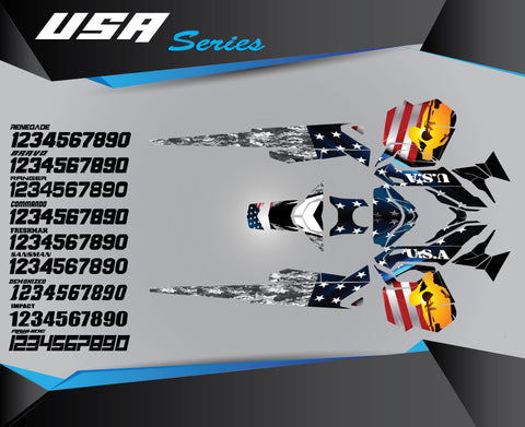 USA SERIES - Sled Kits