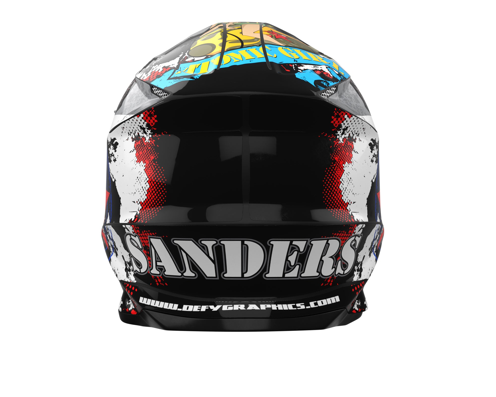 Custom Helmet Wrap