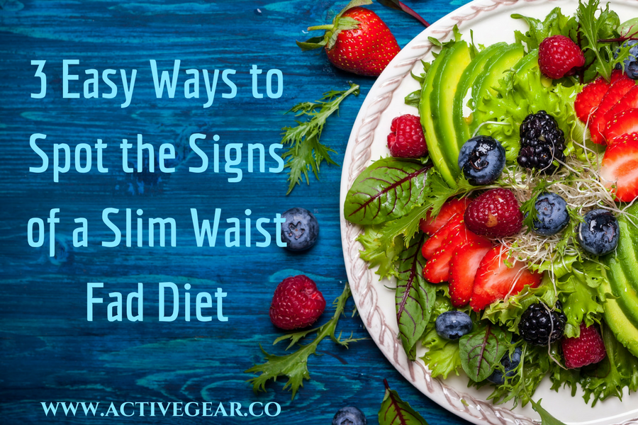 3 Easy Ways to Spot the Signs of a Slim Waist Fad Diet