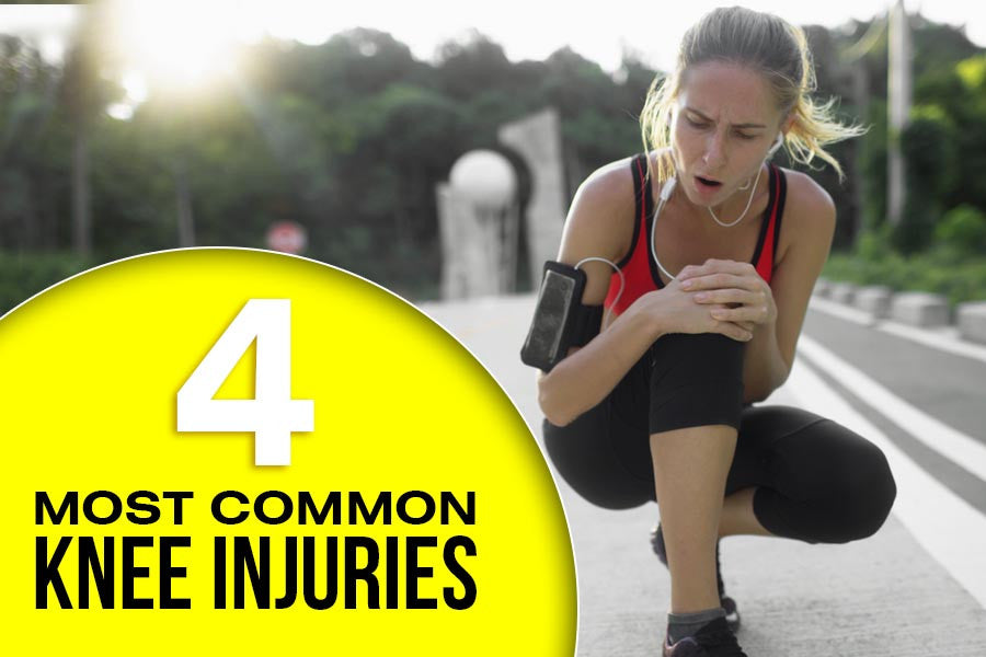The 4 Most Common Knee Injuries, and How to Fix Them