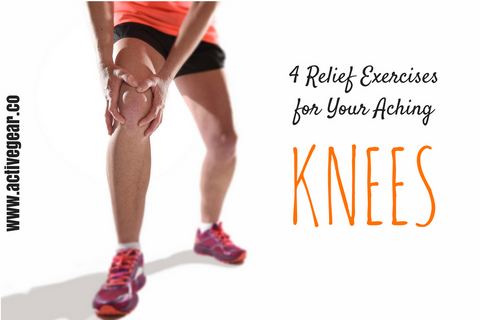 4 Relief Exercises for Your Aching Knees