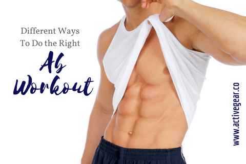 Different Ways to Do the Right Ab Workout