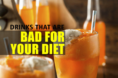 3 Popular Drinks that Are Bad for Your Diet