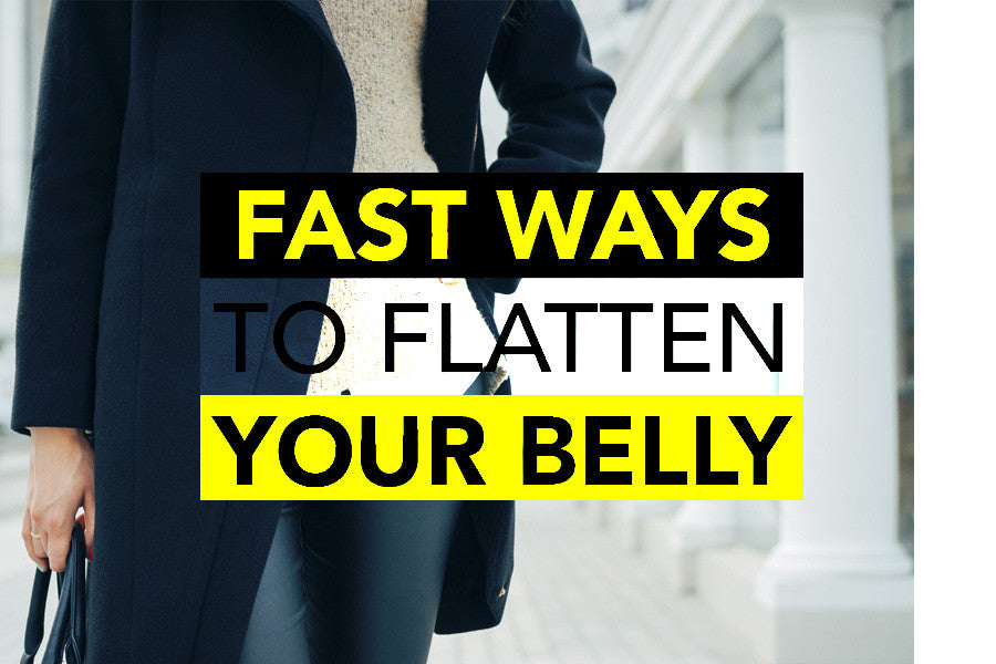 Fast Ways to Flatten Your Belly (and Avoid Painful Workouts)
