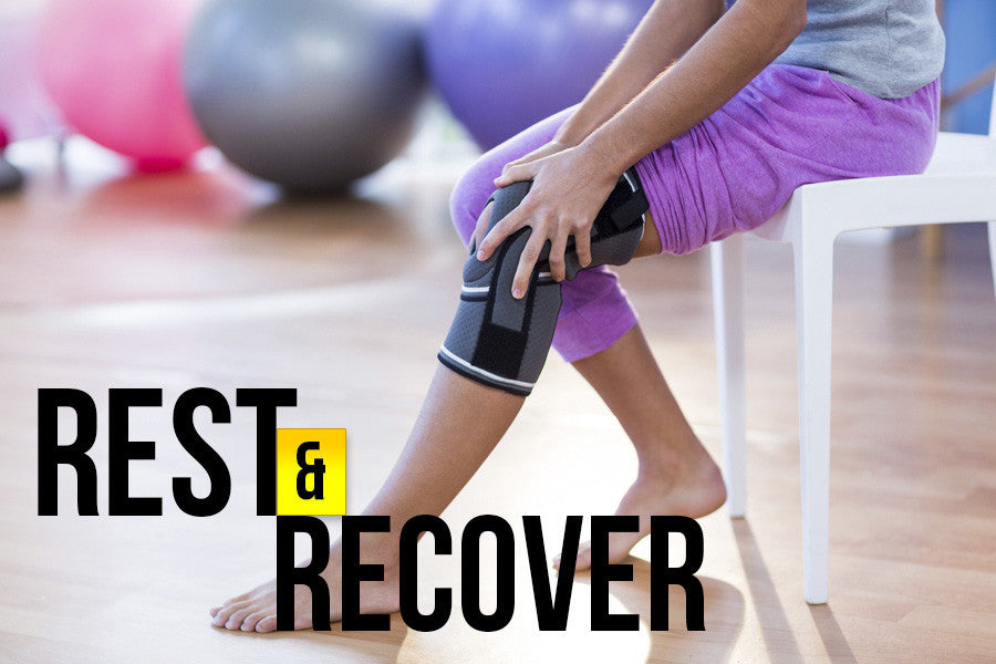 How to Rest and Recover from a Knee Injury Properly