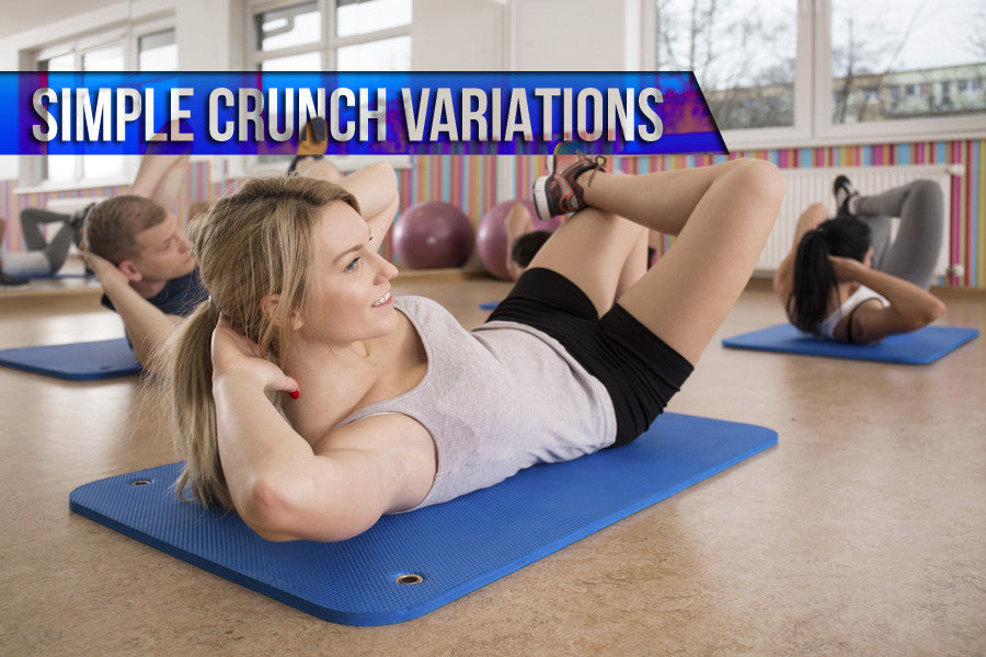 5 Simple Crunch Variations that Won't Drive You Crazy