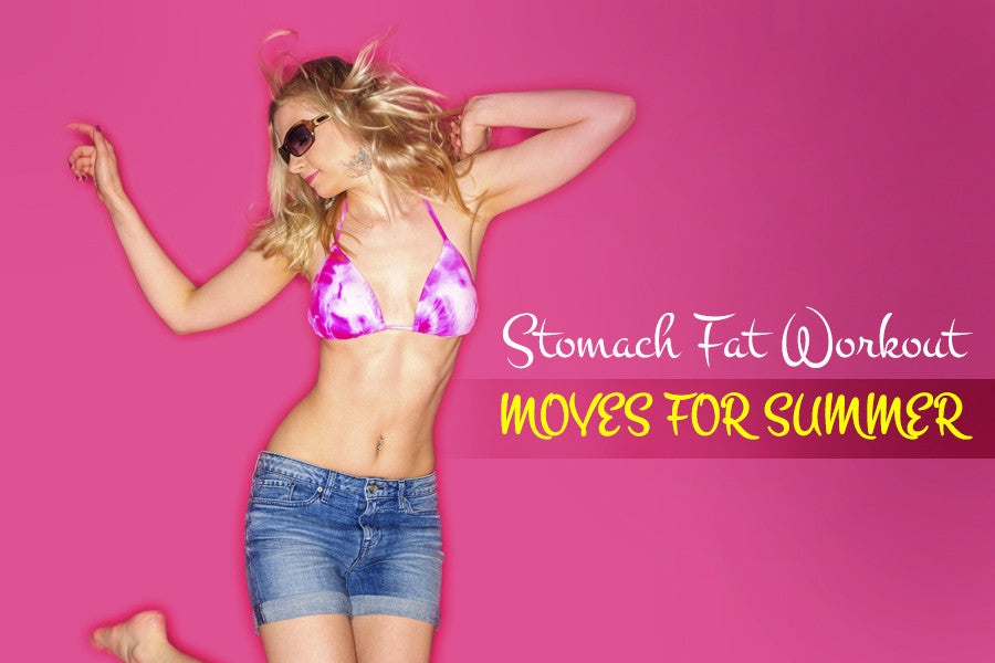 Stomach Fat Workout Moves for Summer