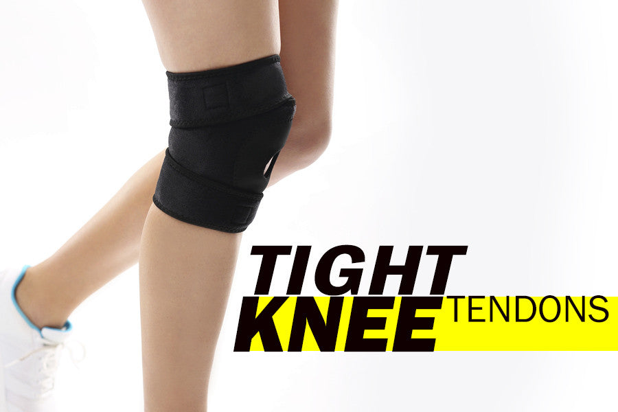 How to Stretch and Exercise Tight Knee Tendons