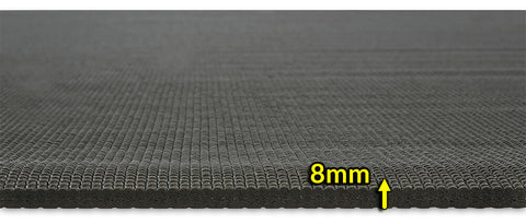 8mm thick yoga mat