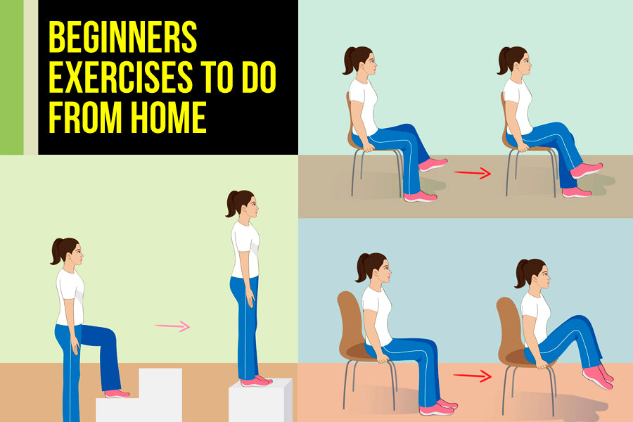 Beginners Exercises You Can Do at Home