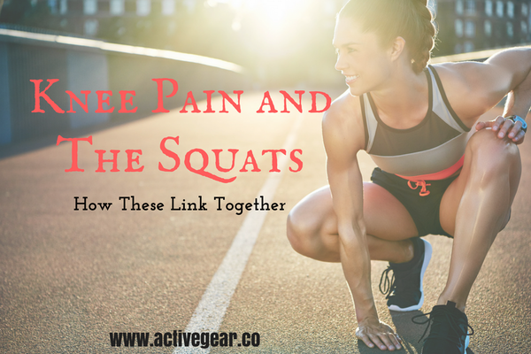 knee pain, squats