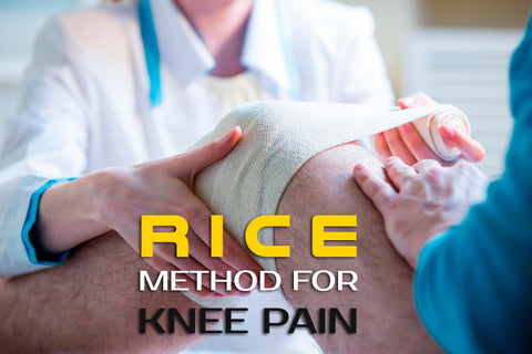 RICE Method for Knee Pain